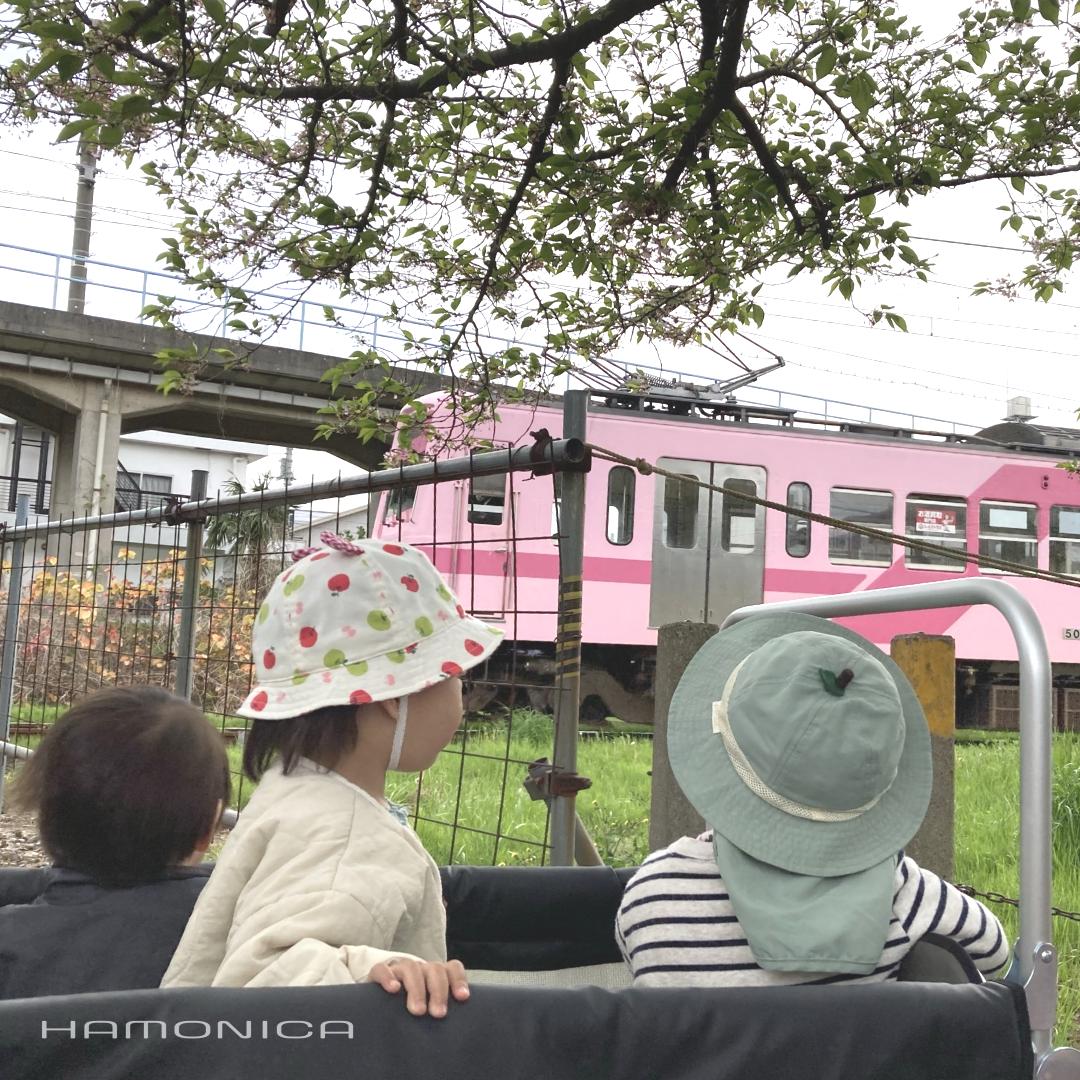 おさんぽと電車